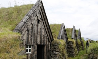 turf houses in Iceland