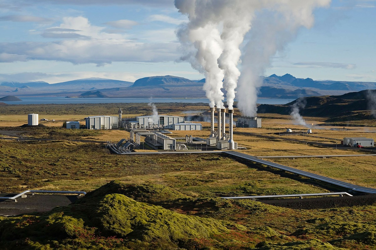 power plant in Iceland
