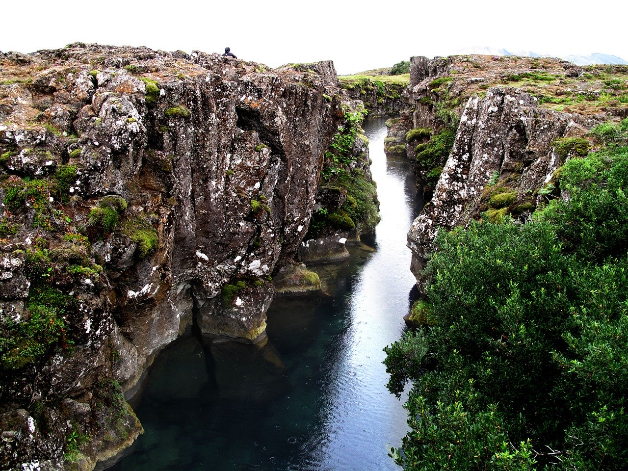 Thingvellir - tectonic plates